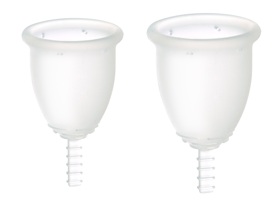 Fleurcup - coupelle menstruelle ou coupe menstruelle - 1 Small + 1 Large